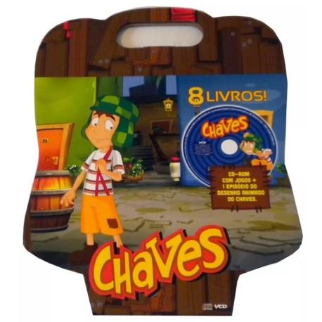 Maleta Chaves (8 livros + CD-ROM com Jogos)