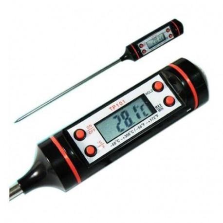 Termômetro Culinário Digital com sensor de aço inox