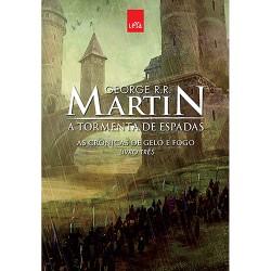 Livro: A Tormenta de Espadas - As Crônicas de Gelo e Fogo - Livro Três (Edição Comemorativa)