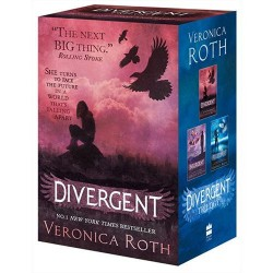 Livro - Divergent Series Boxed Set: Divergent, Insurgent and Allegiant (3 Livros)