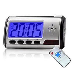 Despertador Espião Digital USB: Gravador de Vídeo Digital com câmera oculta - 16 GB