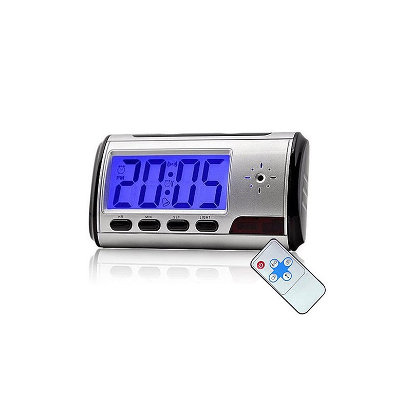 Despertador Espião Digital USB  Gravador de Vídeo Digital com câmera oculta  - 16 GB 9df4ea7357