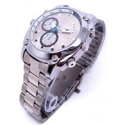 Relógio Espião 16GB com visão noturna - Filma e Tira Fotos!