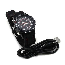 Relógio Espião 4GB - Filma e Tira Fotos!