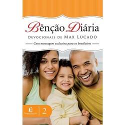 Livro: Bênção Diária - Devocionais de Max Lucado Vol. 2