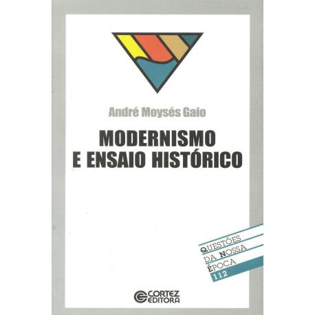 Livro - Modernismo e Ensaio Histórico