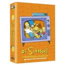 Coleção Os Simpsons 5ª Temporada Completa (4 DVDs)