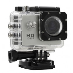 Câmera Sports Full HD 1080p a Prova D'água 30 metros