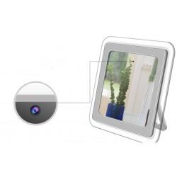 Relógio Espelho Espião com Câmera Invisível WIFI - 16 GB