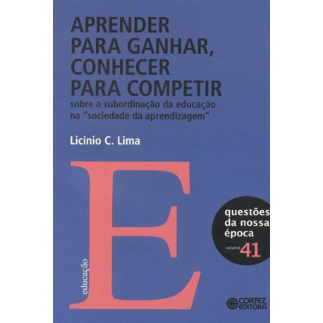 Livro - Aprender para Ganhar, Conhecer para Competir