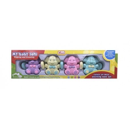 Móbile Infantil de Plástico - Modelo Elefantinho