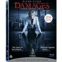 Blu-ray - Damages 1ª Temporada (4 Discos)