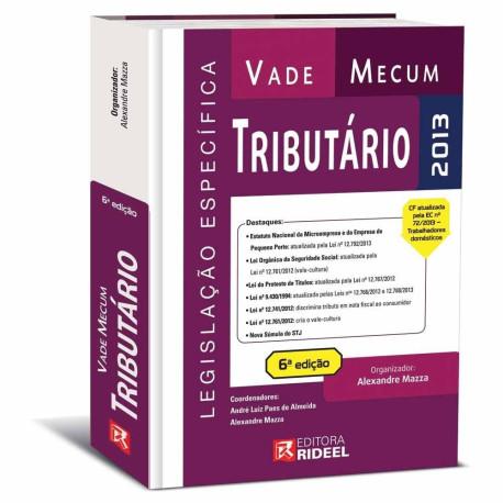 Livro: Vade Mecum Tributário 6ª Edição - 2013