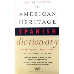 Livro: The American Heritage Spanish Dictionary