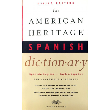 Livro: The American Heritage Spanish Dictionary