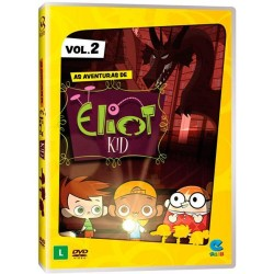 DVD: As Aventuras De Eliot Kid - Vol 2