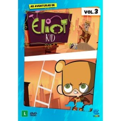 DVD: As Aventuras De Eliot Kid - Vol 3