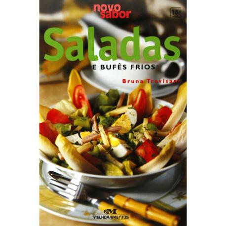 Livro: Saladas e Bufes Frios - Coleção Novo Sabor