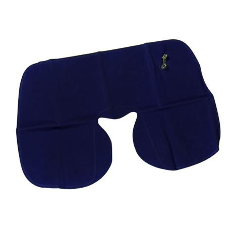 Travesseiro Inflável para Viagem - Azul Marinho
