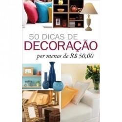 Livro: 50 Dicas de Decoração por Menos de R$ 50,00