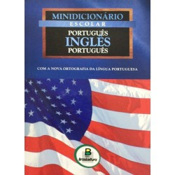 Livro: Minidicionário Escolar (Português-Inglês-Português)