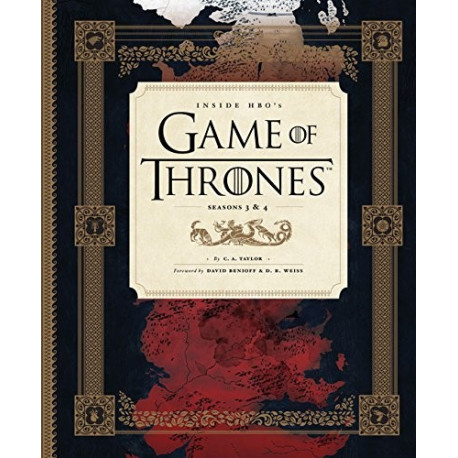 Livro: Inside HBO's Game of Thrones: Seasons 3 & 4