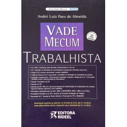 Livro: Vade Mecum Trabalhista - 3ª Edição 2010