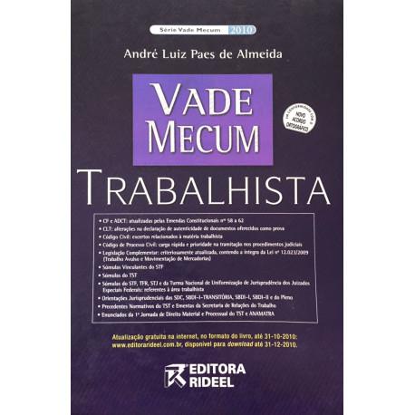 Livro: Vade Mecum Trabalhista - 3ª Edição 2010