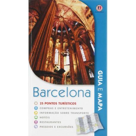 Livro: Guia e Mapa - Barcelona