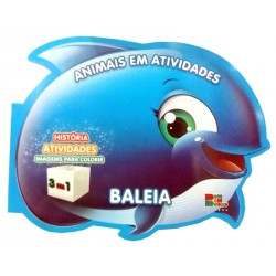 Livro: Animais em Atividades - Baleia