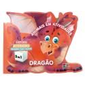 Livro para Colorir: Animais em Atividades - Dragão
