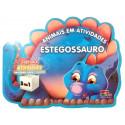 Livro para Colorir: Animais em Atividades - Estegossauro