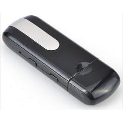 PEN Drive Espião com Micro Camera Espiã, Sensor e Detector de Movimento - 8 GB