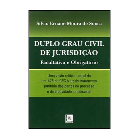 Livro: Duplo Grau Civil de Jurisdição