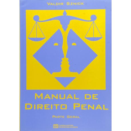 Livro: Manual de Direito Penal - Parte Geral