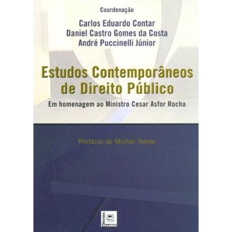 Livro: Estudos Contemporâneos de Direitos Públicos