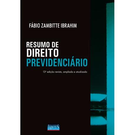 Livro: Resumo de Direito Previdenciário