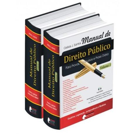 Livro: Manual de Direito Público - 2 Volumes