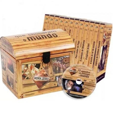 Coleção 12 Episódios que Chocaram o Mundo (12 DVD's)