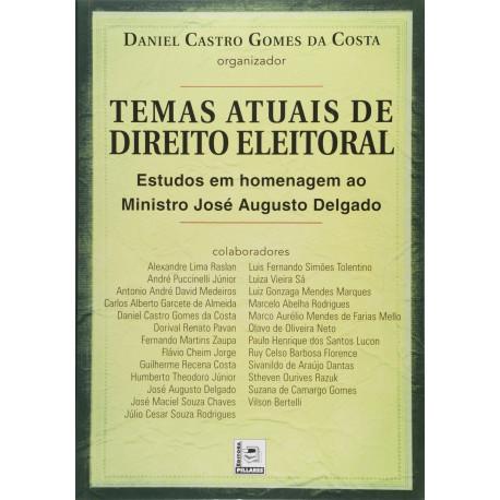 Livro: Temas Atuais De Direito Eleitoral