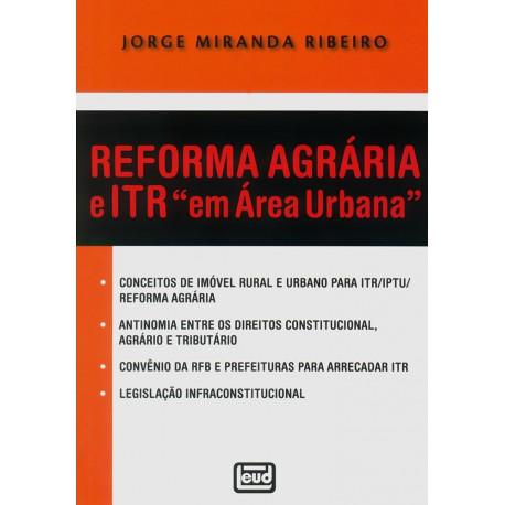 """Livro: Reforma Agrária e ITR """"em Área Urbana"""""""