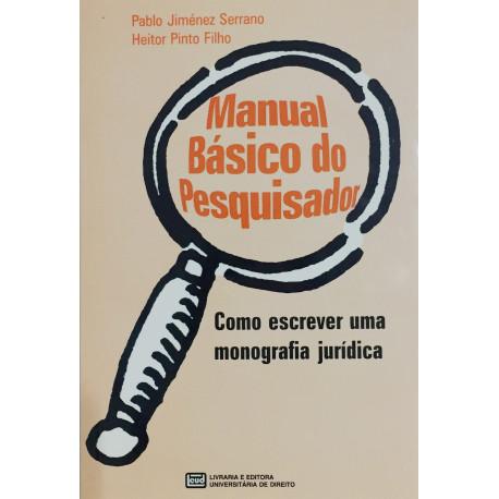 Livro: Manual Básico do Pesquisador