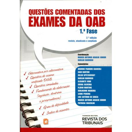 Livro: Questões Comentadas dos Exames da OAB - 1ª Fase