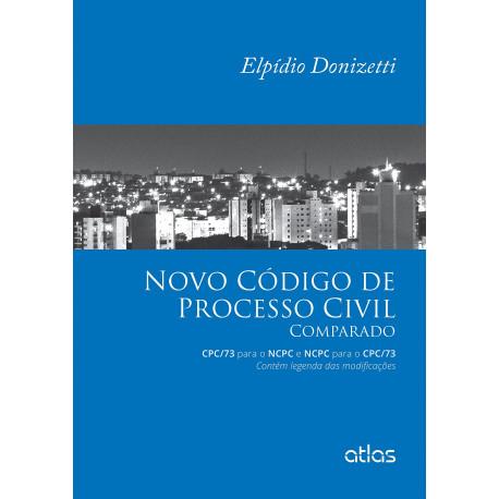 Livro: Novo Código de Processo Civil Comparado