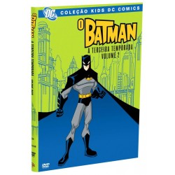 DVD: O Batman 3ª Temporada - Vol. 2