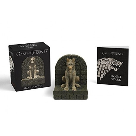 Game of Thrones: Stark Direwolf (With Statue)