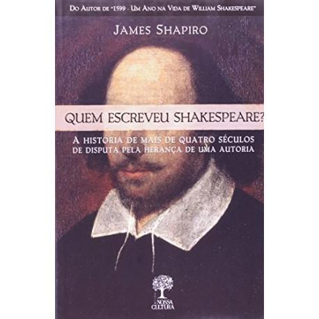 Livro: Quem Escreveu Shakespeare?