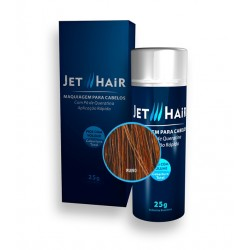 Jet Hair Maquiagem Para Cabelos - Cor Ruivo - Frasco Grande de 25G