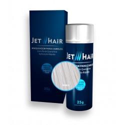 Jet Hair Maquiagem Para Cabelos - Cor Branco - Frasco Grande de 25G