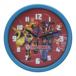 Relógio de Parede Azul - Transformers